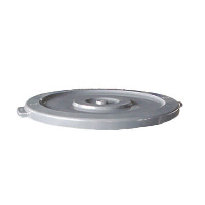 Thunder Group PLTC032GL 32 Gallon Gray Round Plastic Trash Can Lid for PLTC032G