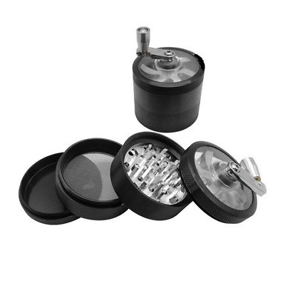4 Layer 2.36' inch Aluminum Alloy Tobacco Herbal Grinder Spice Crusher Container