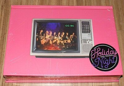 GIRLS' GENERATION 6TH ALBUM Holiday Night All Night Ver. CD + POSTER IN TUBE