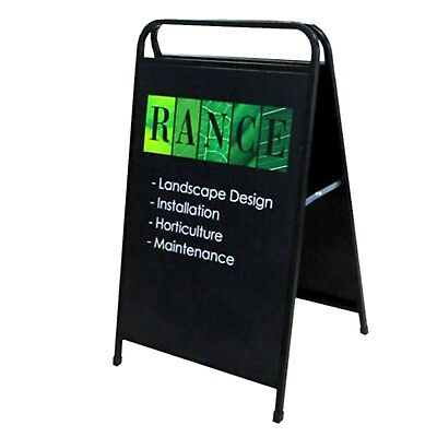 OZ A Frame Sign/A Board/Metal Sandwich board Double Sided with Printing 600*900m