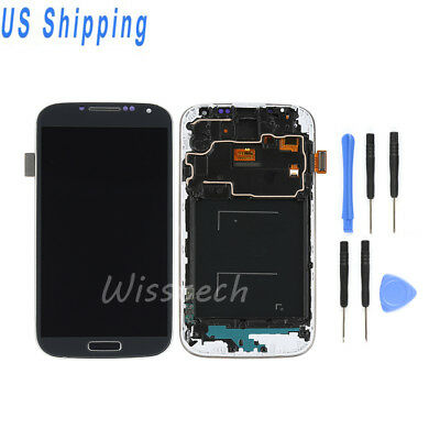 For Samsung Galaxy S4 i337 M919 LCD Screen Digitizer Assembly Replacement