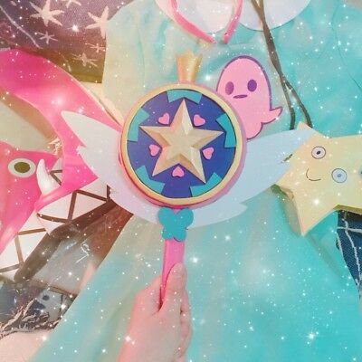 Star vs. the of Forces Evil Princess Magic Wand Stick Hand Cosplay Prop Toy Gift