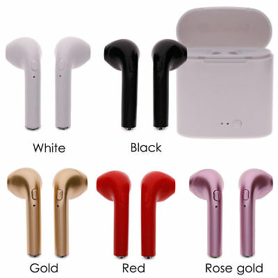 Mini Universal Airpods Wireless Bluetooth Stereo Headset Headphone+Charge Box