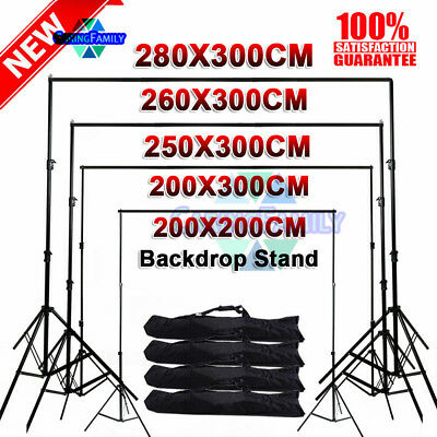 Photo Adjustable Background Support Stand Photo Backdrop Crossbar Kit
