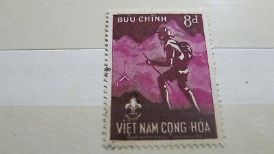 1959 Vietnam Scouts Movement Stamp H