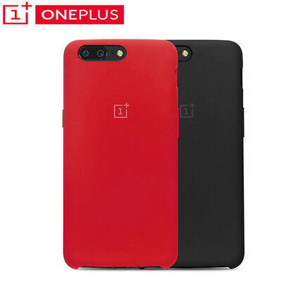 Back Case PU Soft Cover Shell Original Silicone For Oneplus 5 A5000 1+5