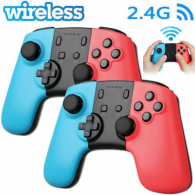 2x 1x Wireless Pro Controller Joypad Gamepad Remote for Nintendo Switch Console