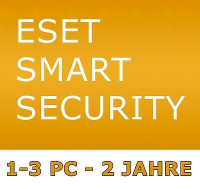 ESET Smart Security - Lizenz - 2 Jahre / 1-3 PC