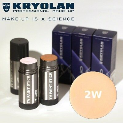 Kryolan Tv Paint Stick 2W - Make Up / Tattoo Cover Professionale 25 Ml