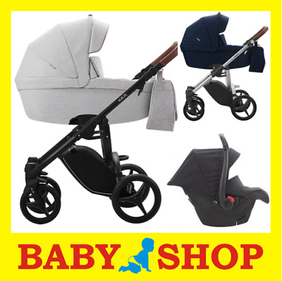BEBETTO Luca 4in1 Stroller Pushchair Sport seat FREE SHIPPING