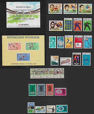 WORLD STAMPS mixed collection, SPORT, No.3, mint, MNH MUH & MH