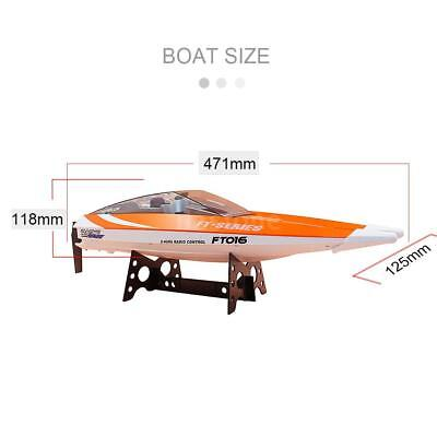 Original Feilun FT016 2.4G 30km/h High Speed RC Racing Boat with Water A3F3