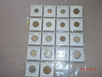 - Afghanistan - 18  Old & New Coins - 1934-2004 - Some Rare - All Different#sh 1