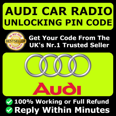 Audi Radio Code Unlock Code For Radio Rns-E Navigation | All Models