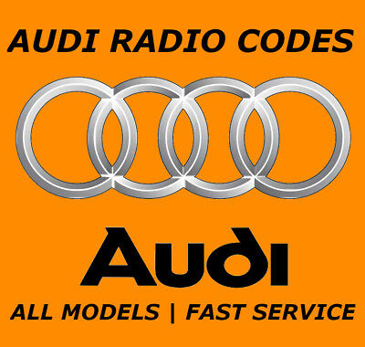 Audi Radio Code Unlock Code For Radio Concert Simphony Rns-D Chorus All Models