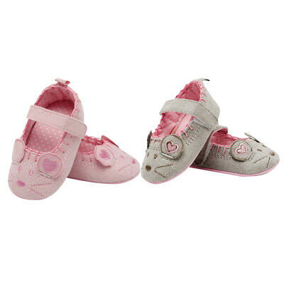Baby Girls Shoes Animal Mouse Cotton Non-slip Baby Kids Prewalker Shoes