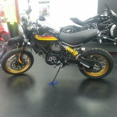 Pre-registered Ducati Scrambler Desert Sled Black Edition.