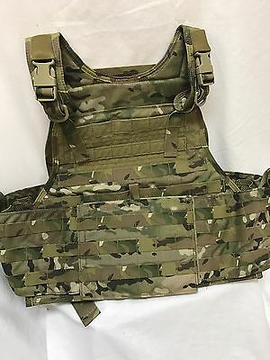 Eagle Industries Plate Carrier w/Cummerbund Multicam L/XL LE SOF