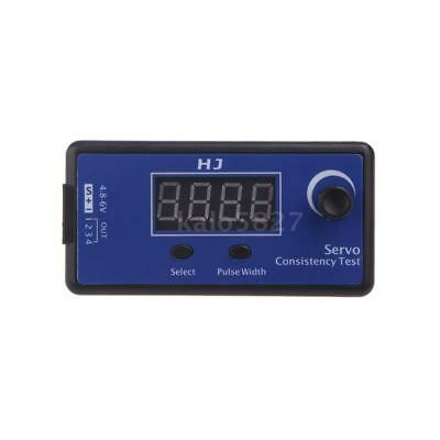 HJ Digital Servo Tester / ESC Consistency Tester for RC Helicopter Airplane X6Y9