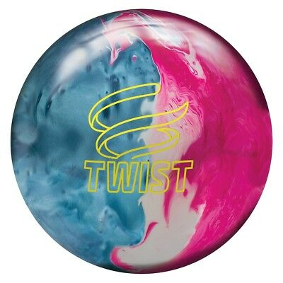 Brunswick Twist Bowling Ball - Sky Blue/Pink/Snow