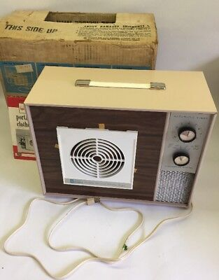 Vintage Wagner Portable Electric Clothes Dryer