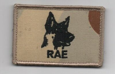 Rae Australian Army Dog Handlers Patch Desert Camo   New