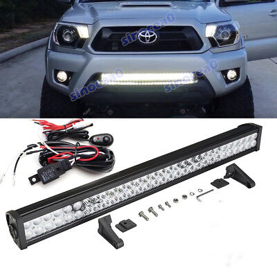 "30/"" LED Slim Light Bar for Lower Bumper Wiring kit For 05-15 Toyota Tacoma only"