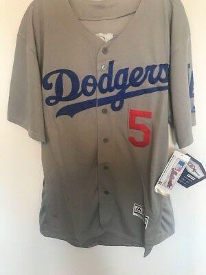 new product 71dd3 cf989 COREY SEAGER LOS Angeles Dodgers Majestic Jersey Mens Medium ...