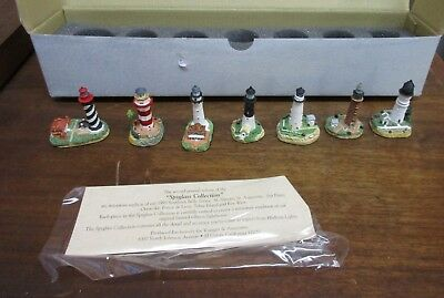 1998 Harbour Lights Spyglass Southern Belle Lighthouse  Series #613 MIB