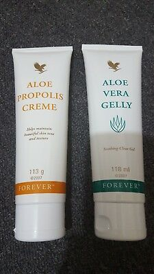 New-Forever Living Propolis Creme & Aloe Vera Gelly 113g