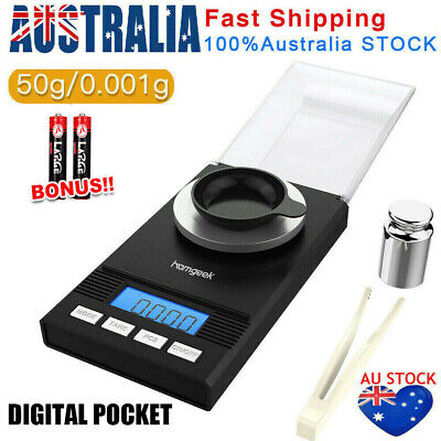50g/0.001g High Precision Electronic Pocket Jewellery Digital Milligram Scales