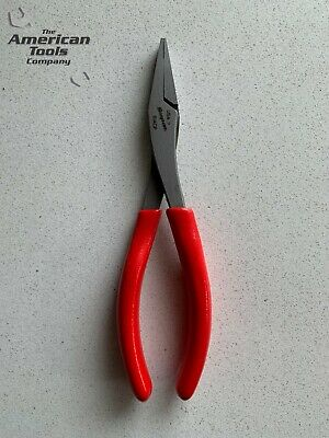 *NEW* Snap On Red Duck Beak Flat Nose Pliers 61ACP
