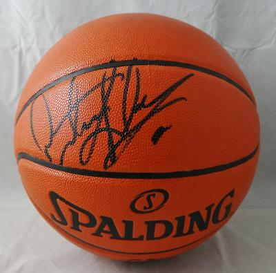 newest 382a9 44d62 DENNIS RODMAN AUTOGRAPHED Official NBA Spalding Basketball *Black- JSA W  Auth