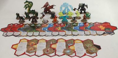 WOTC HeroScape Loose  Wave #11 - Champions of the Forgotten Realms - Comple NM