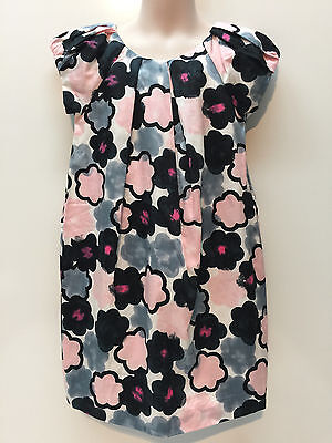 Joe Fresh JCPenney Cotton Occasion Lined Dress Hair Clip Size 5 New Floral