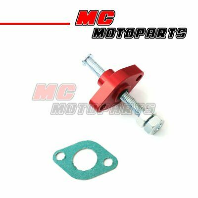 Fit Honda CRF 450R / X year 02 + Manual Cam Chain Tensioner Red CNC