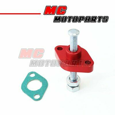 Fit Suzuki DRZ 400 E/S/SM 00- 05 06 07 08 09 Manual Cam Chain Tensioner Red CNC