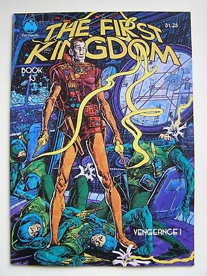 Vintage THE FIRST KINGDOM 1980 Book 13 Vengeance Underground Comic