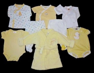 Boy Girl Gender Neutral Baby Clothes Lot Size 3 months Shirts Outfits