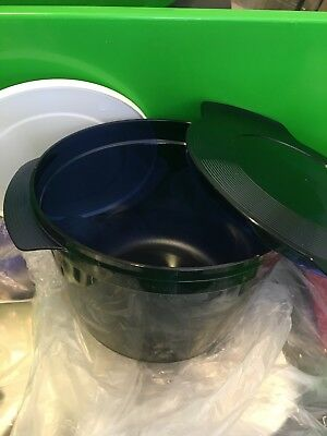 Tupperware 1.5 L Micro cook  Microwave Cooking & Reheating Blue New