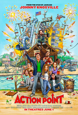 ACTION POINT MOVIE POSTER 2 Sided ORIGINAL FINAL 27x40 JOHNNY KNOXVILLE