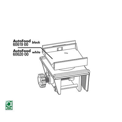 JBL AUTOFOOD blanc support complet (1 set), NEUF