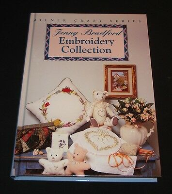 JENNY BRADFORD EMBROIDERY COLLECTION  242 pages HB