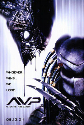 Alien Vs. Predator (2004) original movie poster advance version B - ss - rolled
