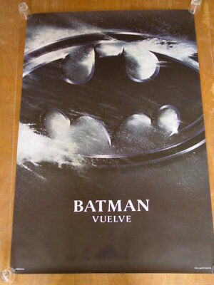 Batman Returns (1992) original movie poster advance version B spn - ss - rolled