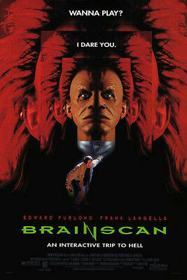Brainscan (1994) original movie poster - single-sided - rolled