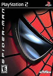 Spider-Man (Sony PlayStation 2, 2002) Disc Only - Tested 100% Guaranteed