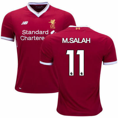 New Liverpool Home Shirt 2017/18 (M.SALAH No 11)/