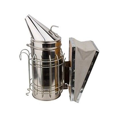 Premium stainless steel smoker honey bee for beekeeping beef leather use