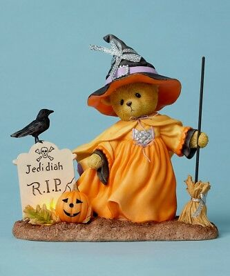 Cherished Teddies Delwyn #4053447 Ltd Edition 2016 Halloween Witch MSRP $60 NIB